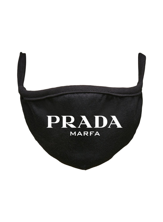 Marfa face mask black