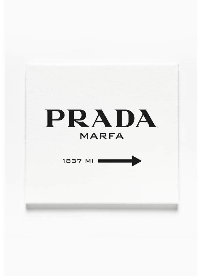 Marfa Square Canvas 1:1