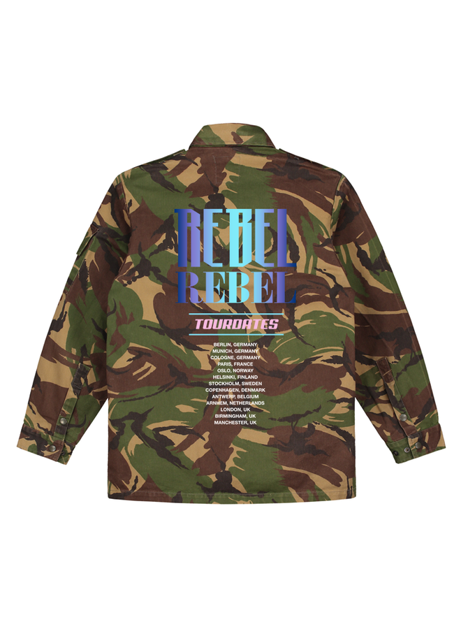 Rebel blue camo jacket