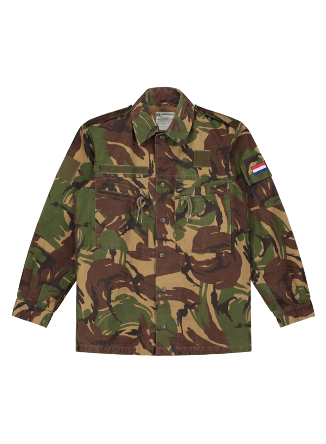 Make art camo jacket