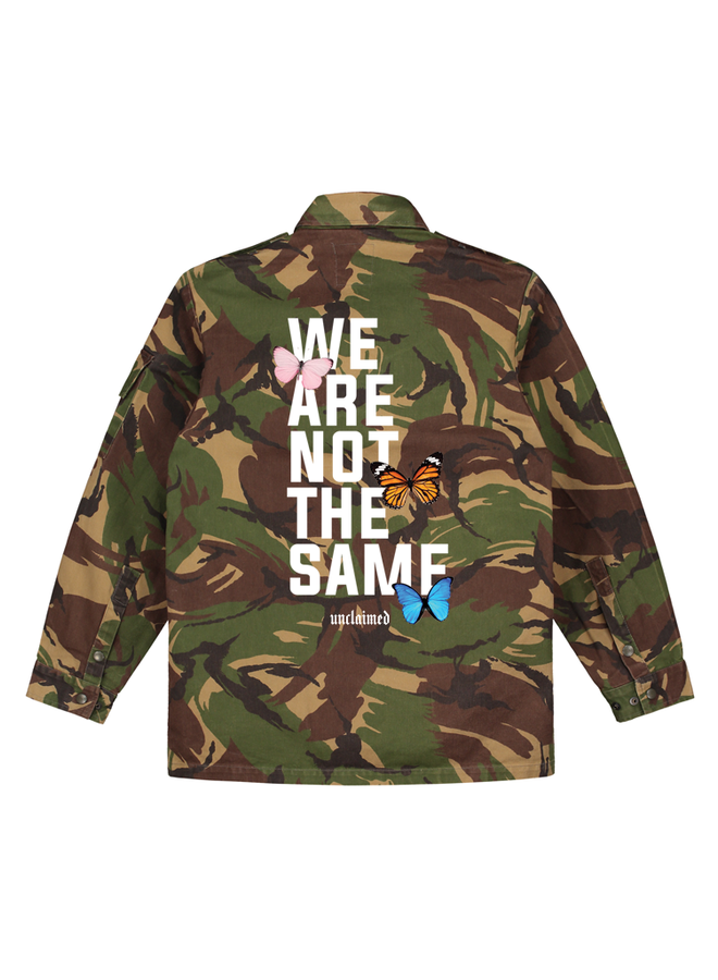 Unclaimed butterfly camo jacket