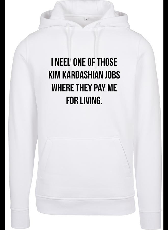 Pay me hoodie