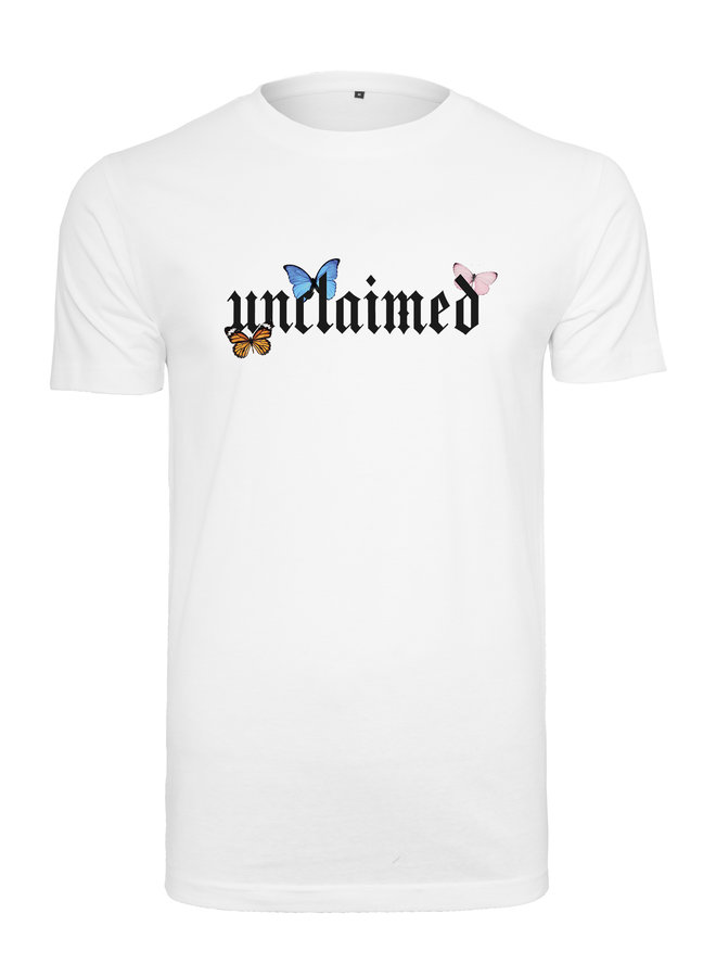 Unclaimed butterfly t-shirt
