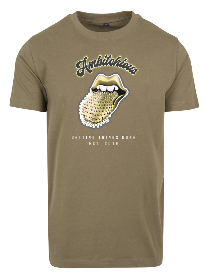 Ambitchious gold t-shirt