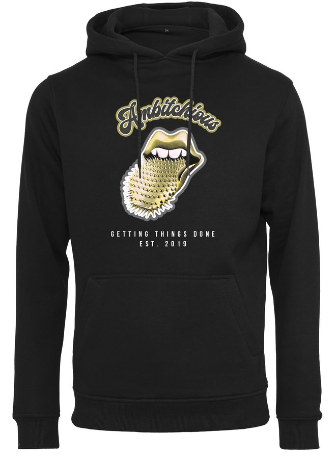 Ambitchious gold hoodie