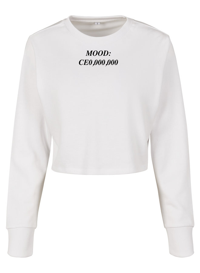 CEO cropped sweater