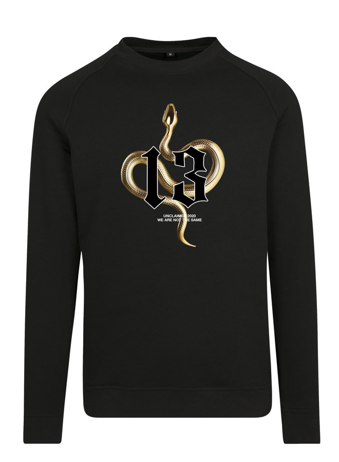 Gold snake sweater basic