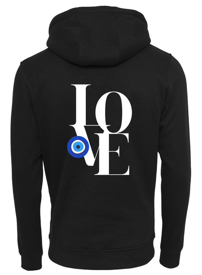 Love eye hoodie