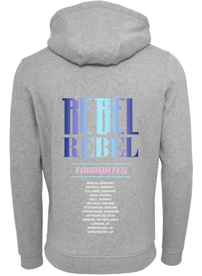 Rebel blue hoodie
