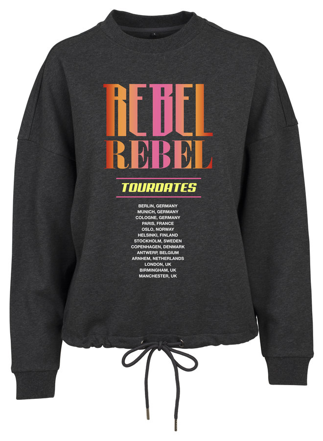 Rebel pink sweater