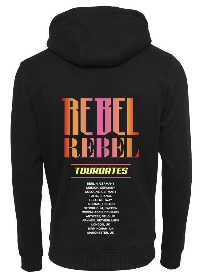 Rebel pink hoodie