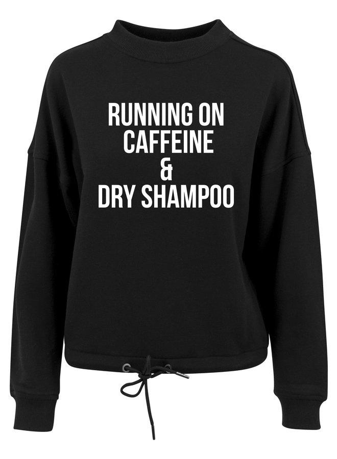Running on sweater