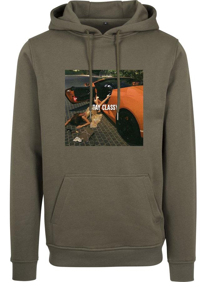 Stay classy hoodie