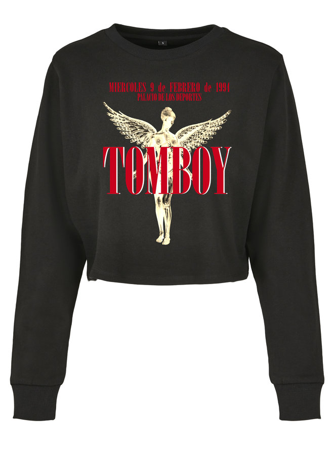 Tomboy cropped sweater