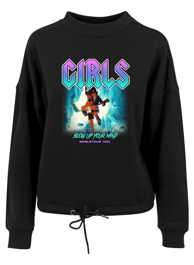 Worldtour lila sweater