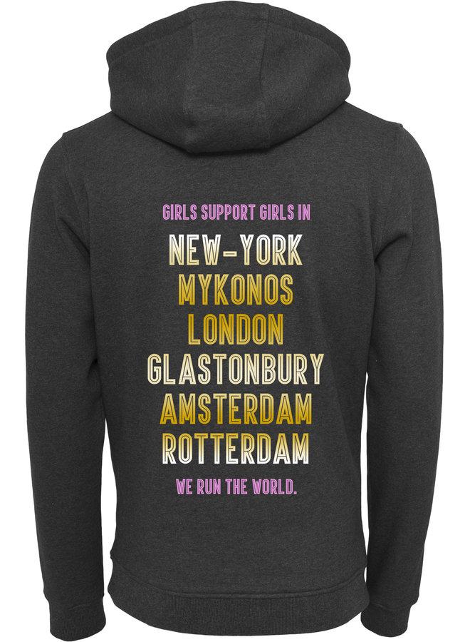 Worldtour pink hoodie