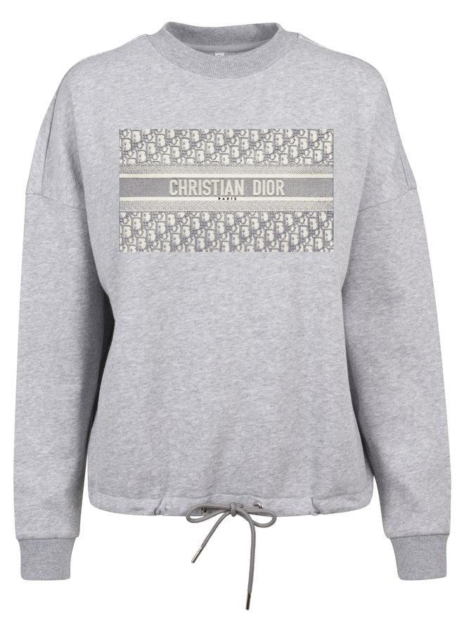 DD Greyish rope sweater