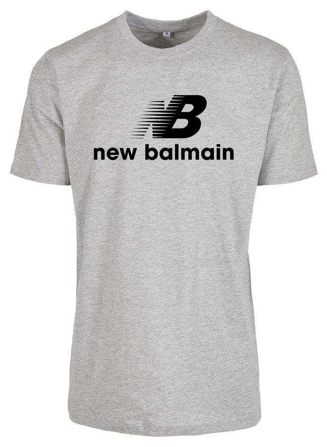 New B t-shirt