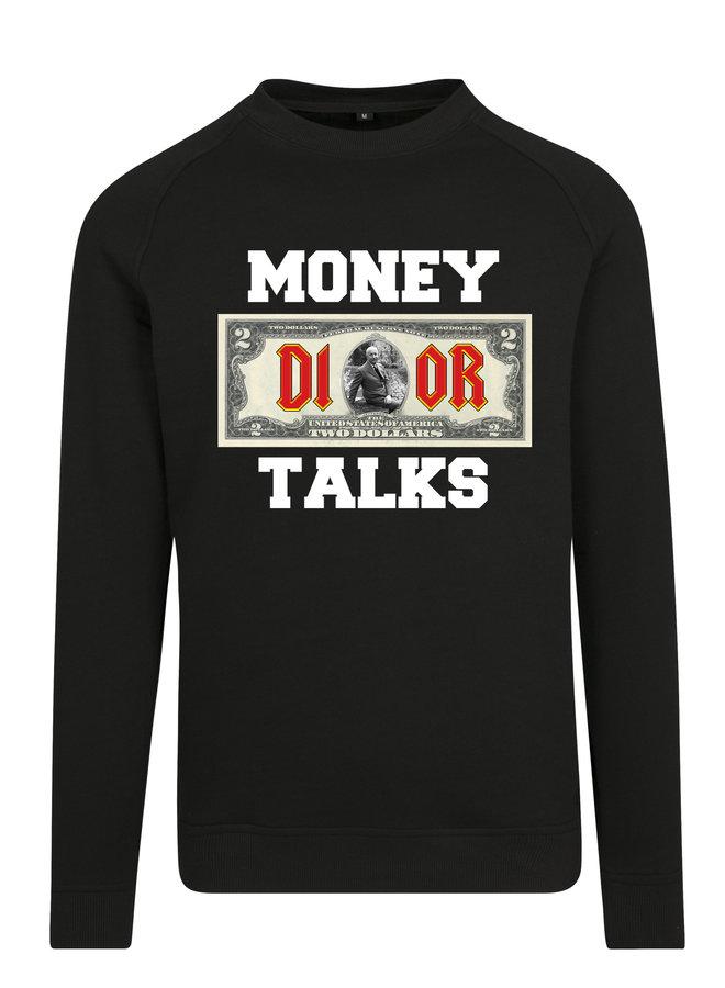 Money talks sweater