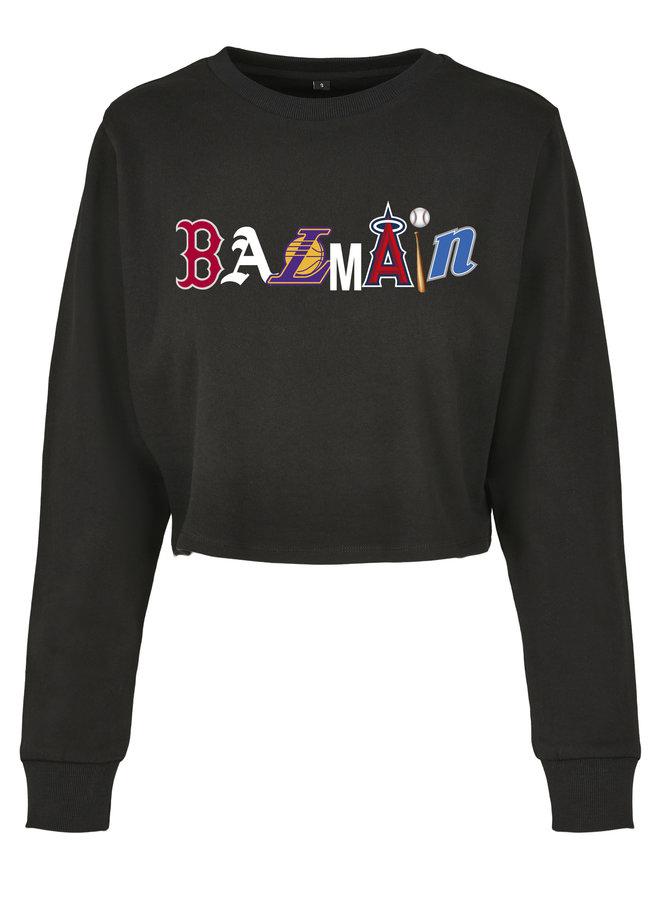 Combo B cropped sweater