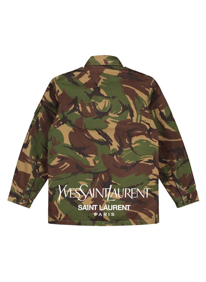 Sainty camo jacket