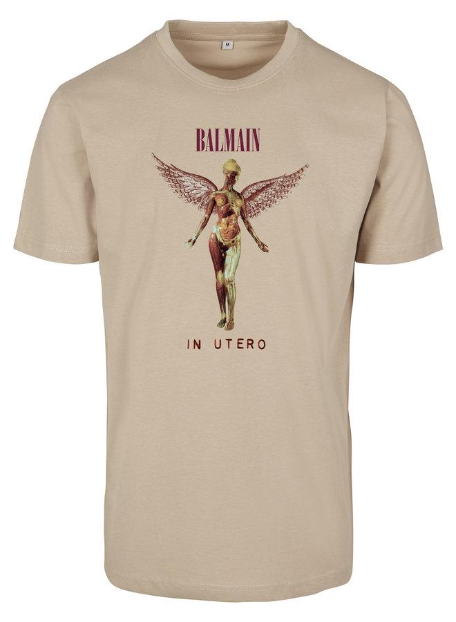 SALE - Brown Angel T-shirt Sand XS
