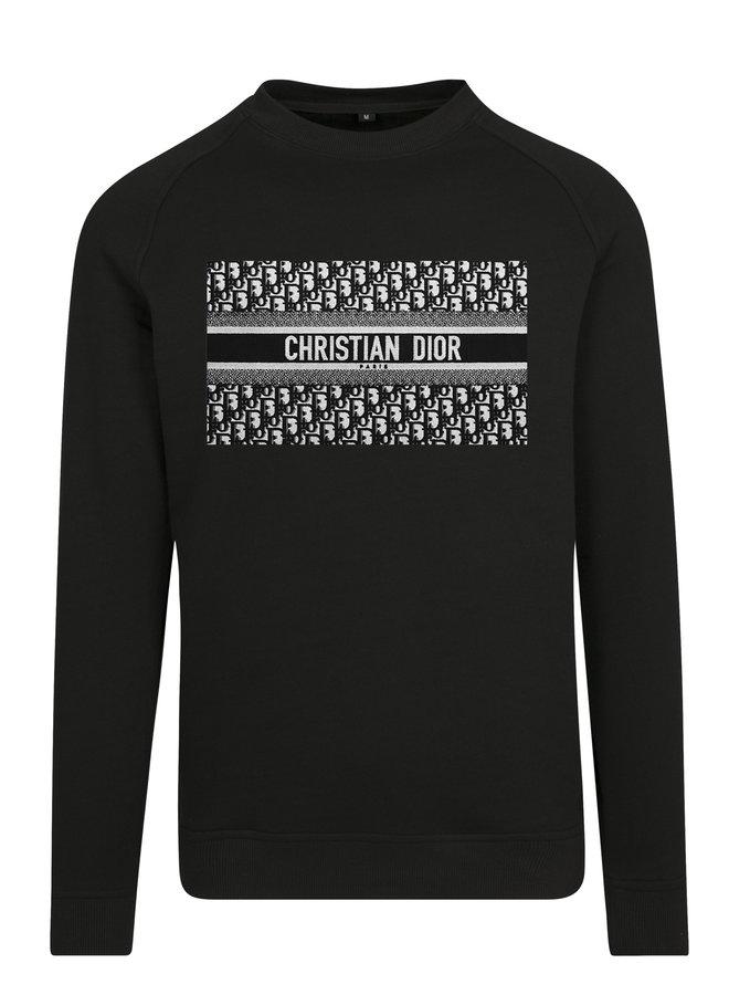SALE - DD Blackish Basic Sweater Black L