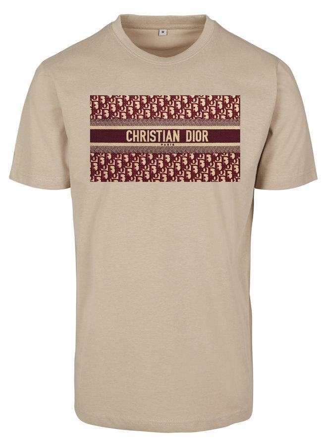 SALE - DD Bordeaux T-shirt Sand L