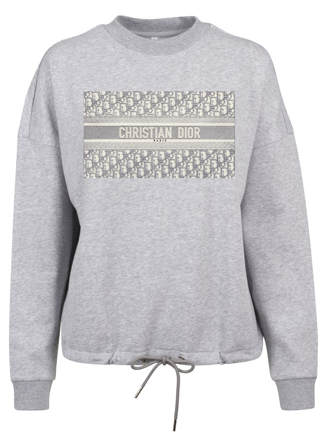 SALE - DD Greyish Rope Sweater Grey L