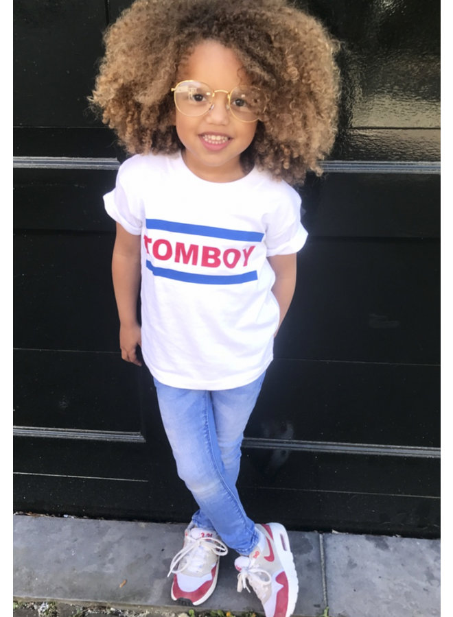 Tomboy Blue/Red Kids T-shirt