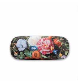 Brillenkoker Vaas met Bloemen