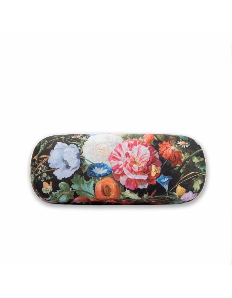 Glasses Case Vase of Flowers
