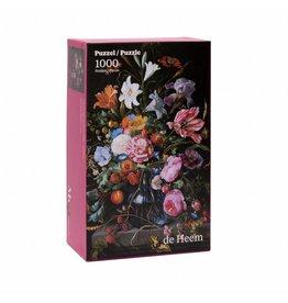 Jigsaw Puzzle Vase of Flowers