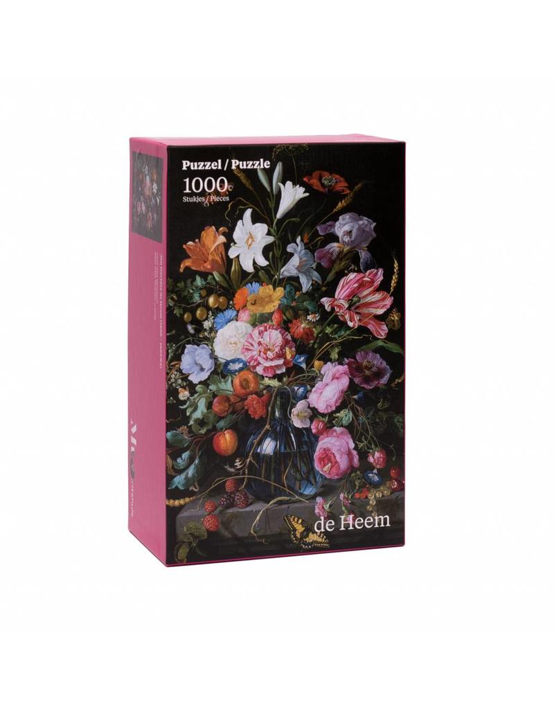 Jigsaw Puzzle Vase of Flowers