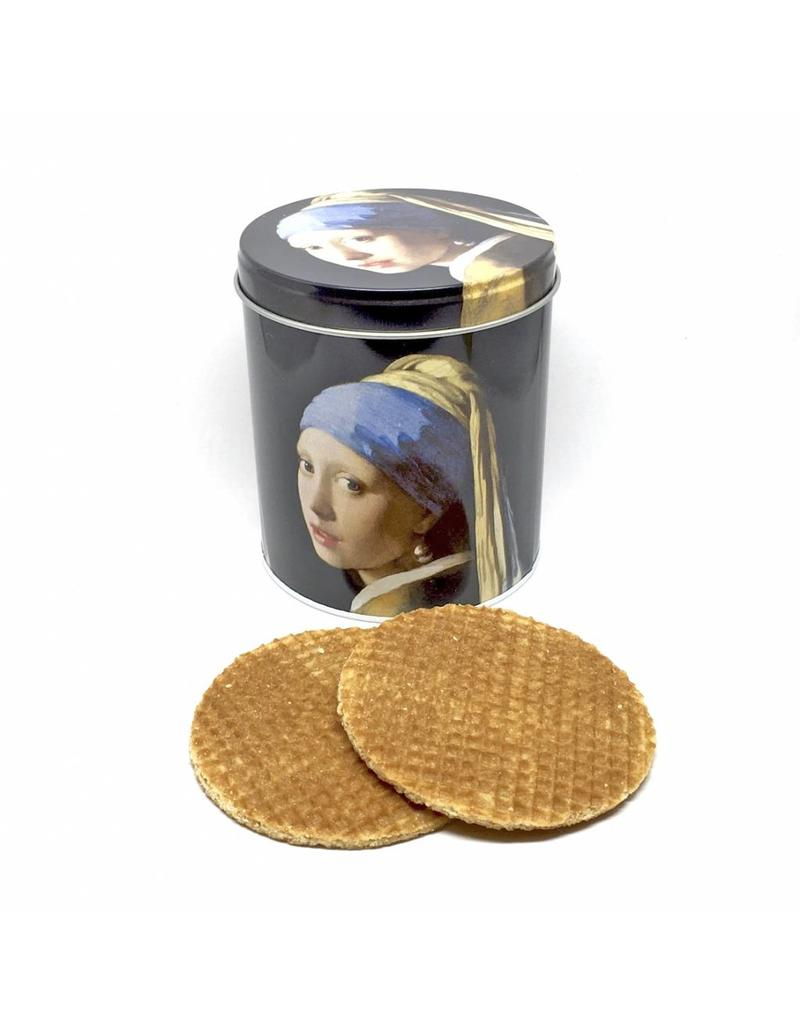 Tin with Waffles Girl with a Pearl Earring