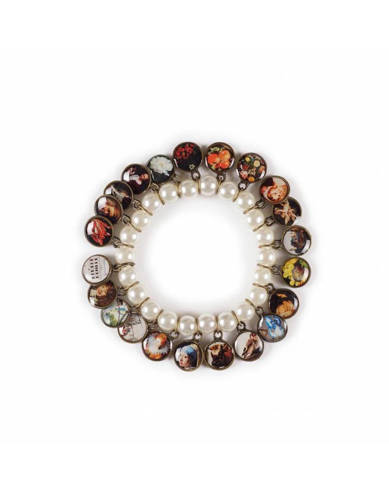 Litchi Parel Armband