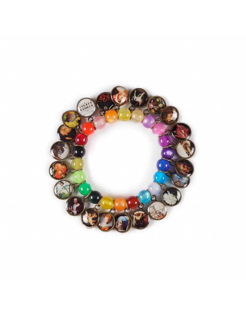 Litchi Multicoloured Bracelet