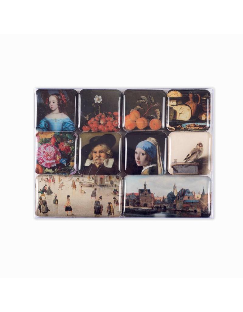 Magneetset Topstukken van het Mauritshuis