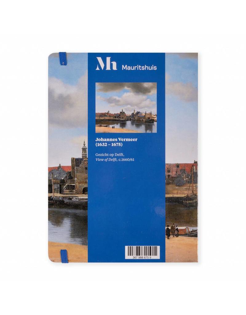 Notitieboek A5 Gezicht op Delft