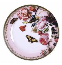 Decorative Plate Vase of Flowers