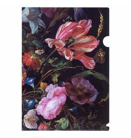 A4 Insteekmap Vaas met Bloemen