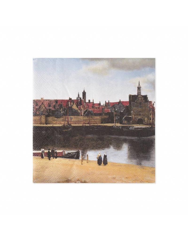 Napkins View of Delft