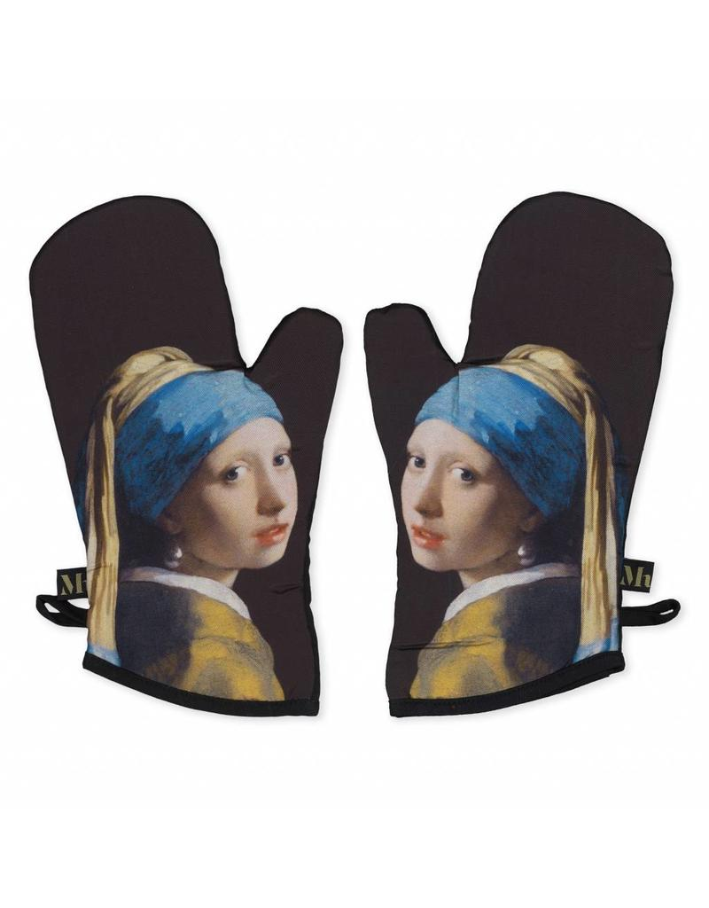 Oven Mitts Girl with a Pearl Earring