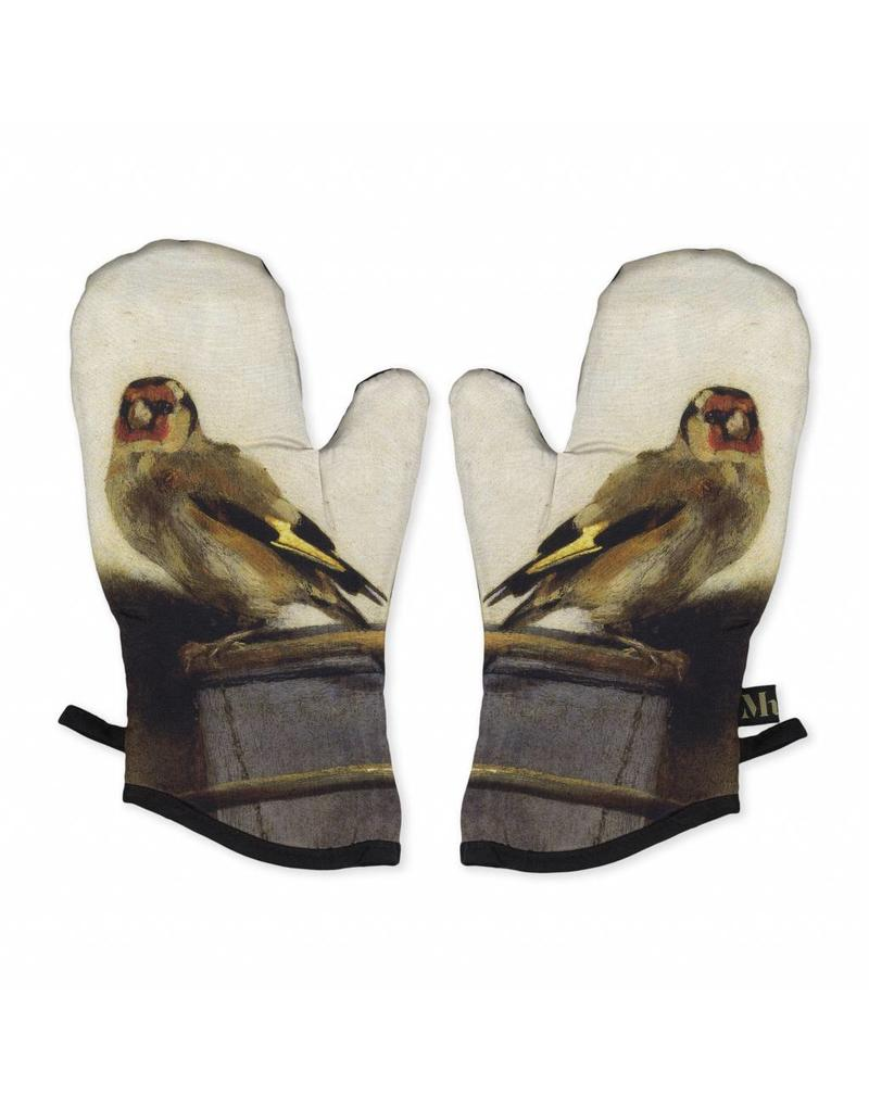 Oven Mitts The Goldfinch