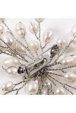 Brooch with Freshwater Pearls