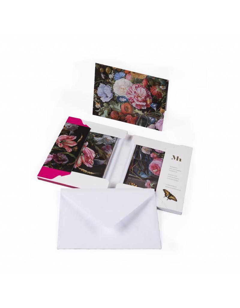 Postcards Wallet Vase of Flowers de Heem