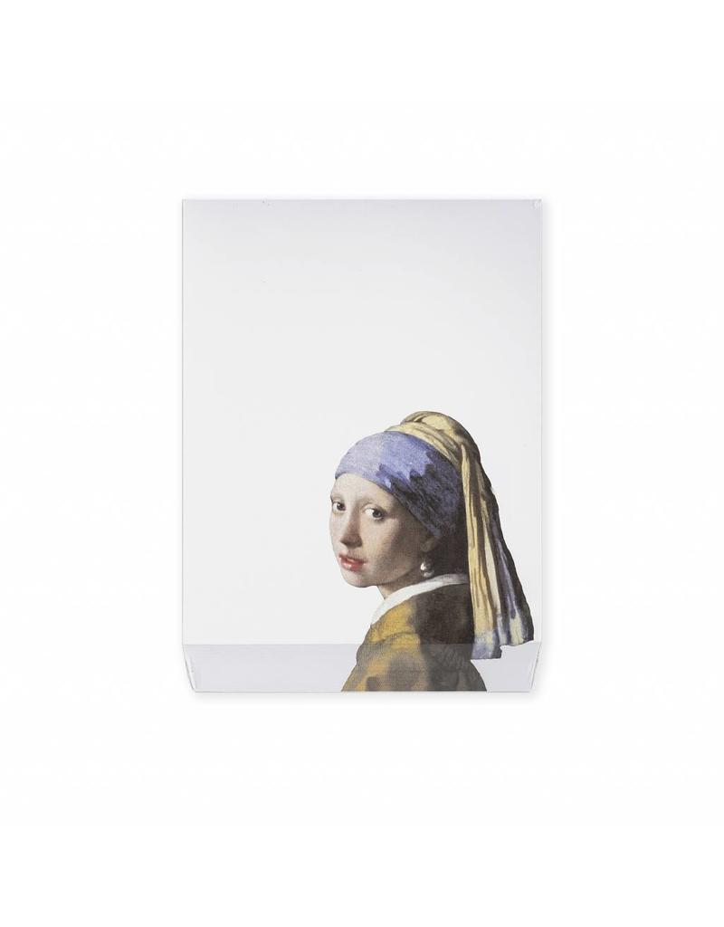 Notepad Girl with a Pearl Earring