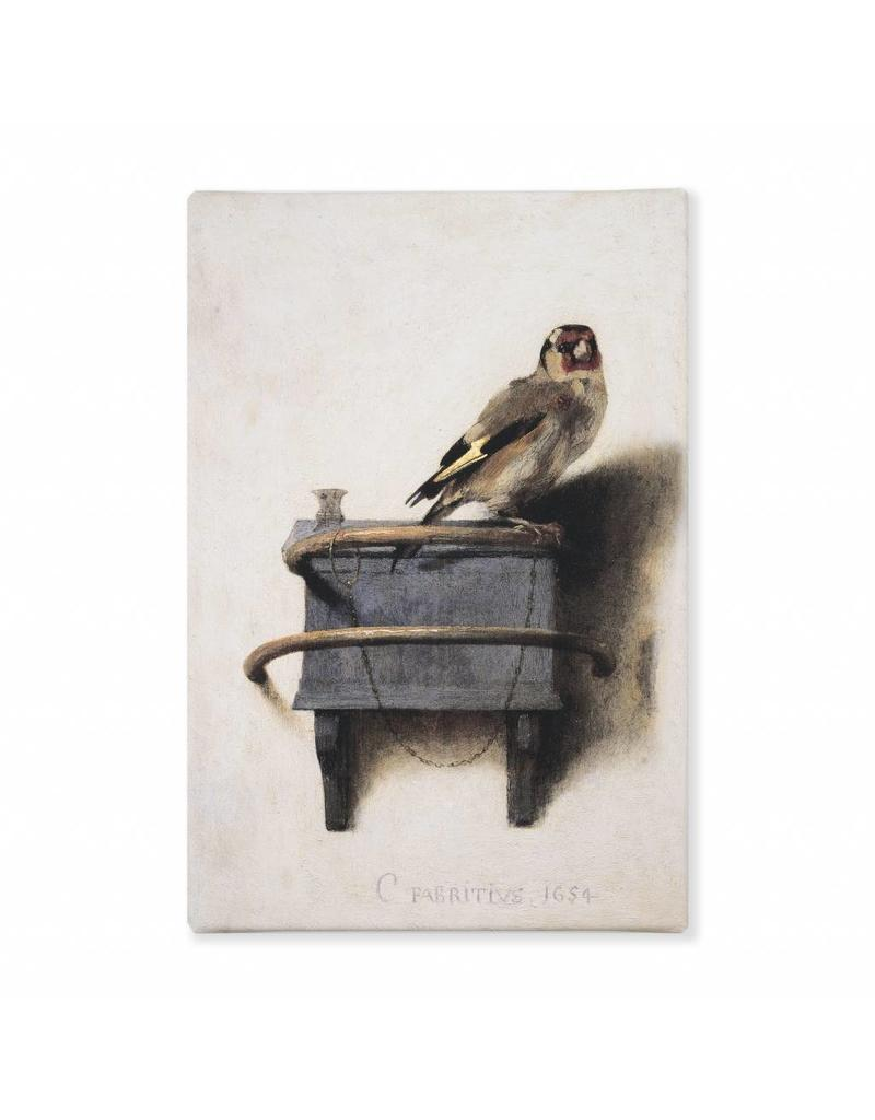 Reproduction The Goldfinch on Canvas