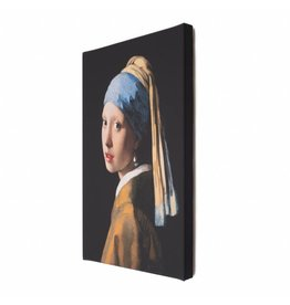 Reproduction Girl with a Pearl Earring on Canvas
