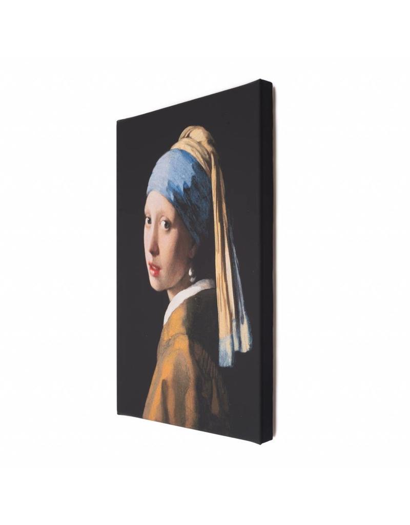 Reproductie Meisje met de Parel op Canvas - Mauritshuis Museumshop -  Mauritshuis webshop